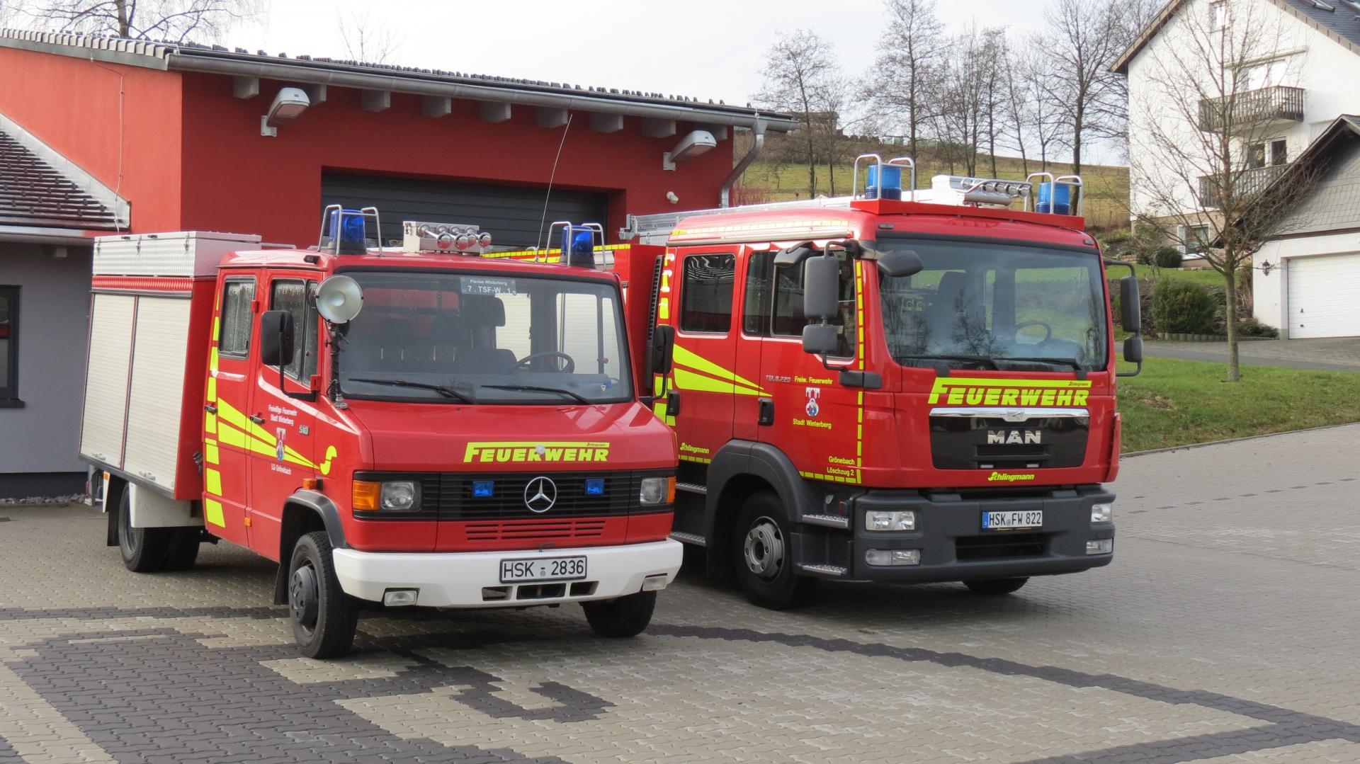 Das neue Fahrzeug ersetzt ein TSF-W aus dem Jahre 1993